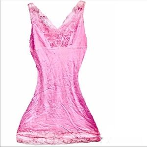 NWT Plus Silk Slip Germany Lace Chemise Lingerie